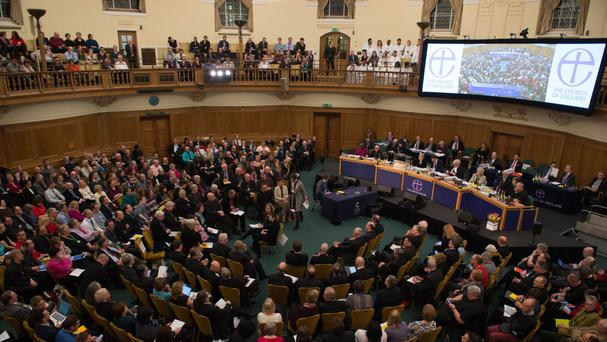 The General Synod voted on a controversial report on homosexuality and same-sex marriage