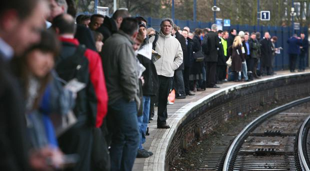 Train punctuality has reached its lowest point in over a decade with more than one in 10 (12.3%) running late