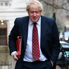 Foreign Secretary: Boris Johnson