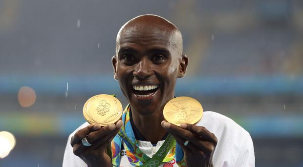 Sir Mo Farah also said he found his new title somewhat strange at first