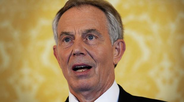 Tony Blair is campaigning against a hard Brexit