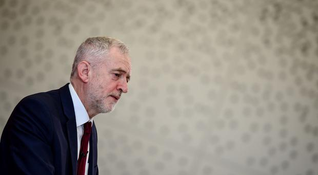 Jeremy Corbyn delivers a speech to a Labour Local Government Conference at Warwick University in Coventry