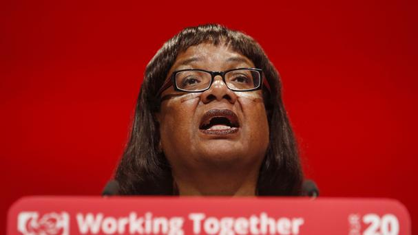 Shadow home secretary Diane Abbott said the Opposition is