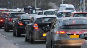 The study by Inrix, a traffic information company, shows traffic jams cost the average UK driver nearly £1,000 a year.