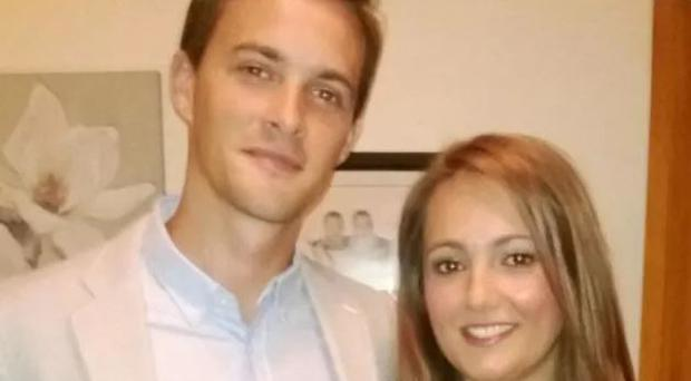 Oliver Dearlove with his girlfriend Claire (Metropolitan Police/PA)