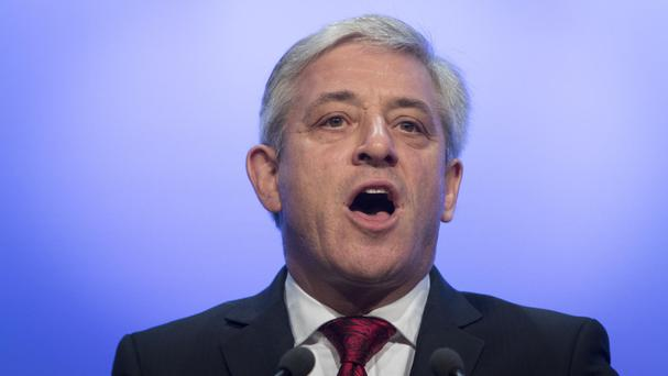 Mr Bercow's outspoken comments essentially banned Donald Trump from addressing MPs and peers in Westminster Hall