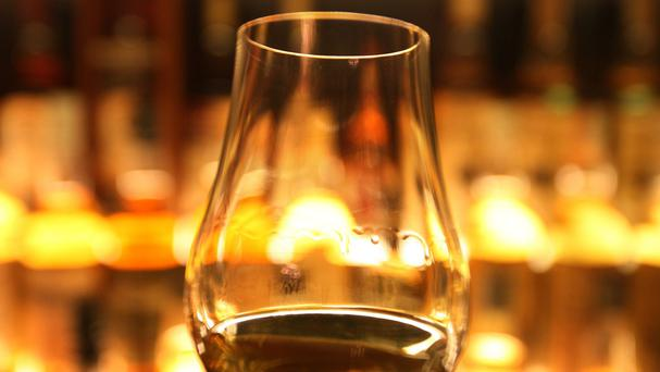 Whisky made up more than 20 per cent of all food and drink exports