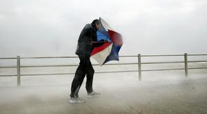 The storm will bring strong winds and heavy rain to parts of Northern Ireland
