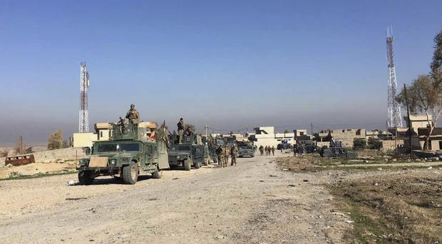 The British IS fighter is said to have detonated an explosives-filled vehicle in a village to the south of Mosul, Iraq