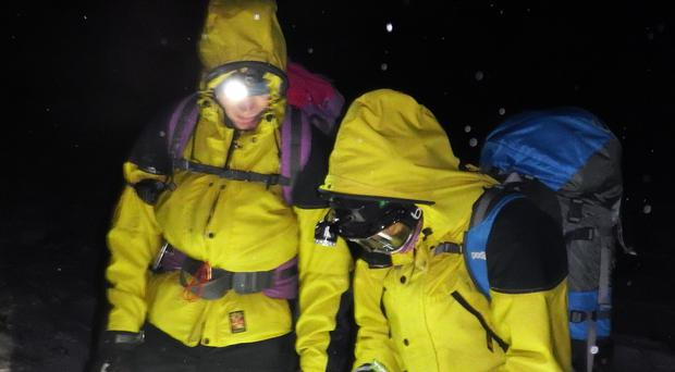 Cairngorm Mountain Rescue Team was alerted to the incident (CMRT/PA)
