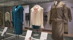 The new London collection charts Diana's fashion history though the years