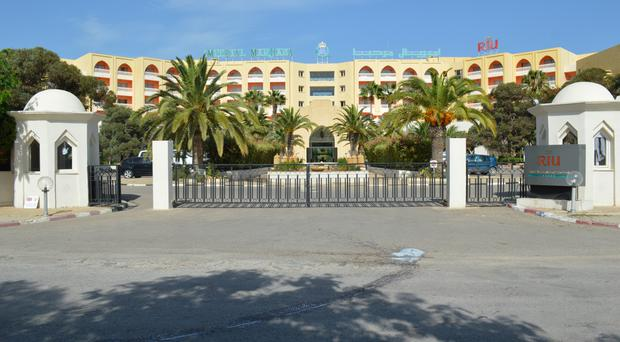 The Riu Imperial Marhaba Hotel in Sousse