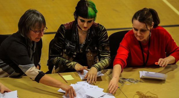 Counting takes place in the Copeland by-election