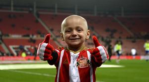 Bradley Lowery has been invited to lead out England at Wembley