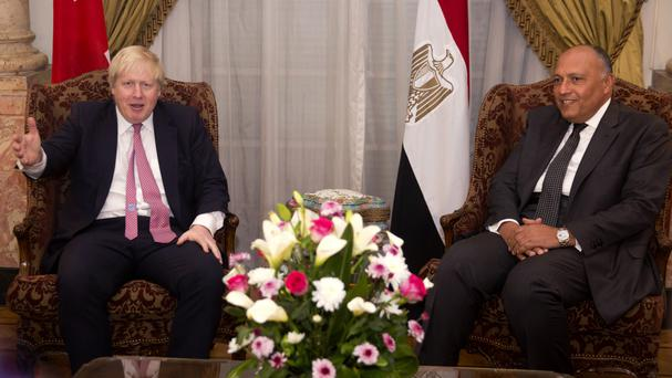 Boris Johnson urged to raise human rights abuses with Egyptian president
