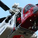 A search operation will resume on Sunday following reports an 18-year-old man fell from a cliff