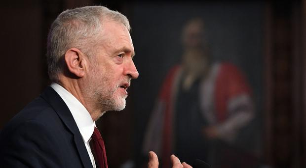 Jeremy Corbyn has insisted he will
