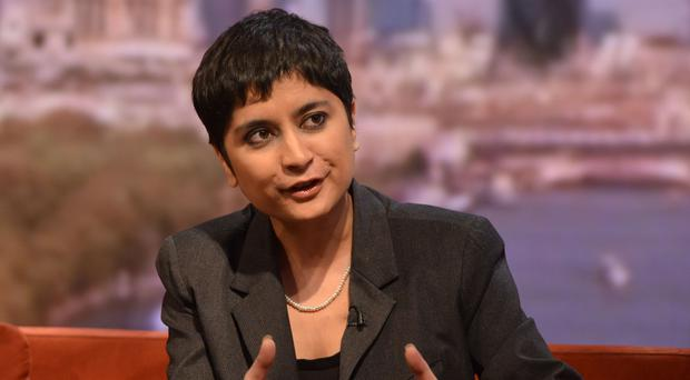Shami Chakrabarti said mobile phones are 'clearly a problem in malicious hands in the Palace of Westminster'
