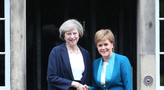 The UK Government is reportedly preparing for Nicola Sturgeon to use the start of the country's exit from the EU to call another vote on Scottish independence.