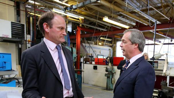Nigel Farage calls for UKIP MP's head