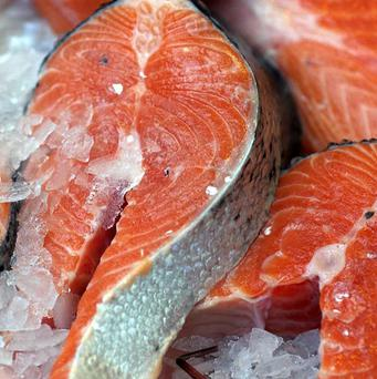 A complaint was lodged with City Hall officials and salmon was offered at the last minute at the regular free dinner for councillors before their monthly meeting. Stock image