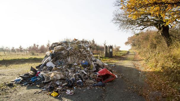 Fly-tipping is on the rise