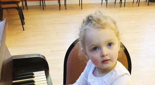 A pensioner driver has admitted killing a three-year-old Poppy-Arabella Clarke