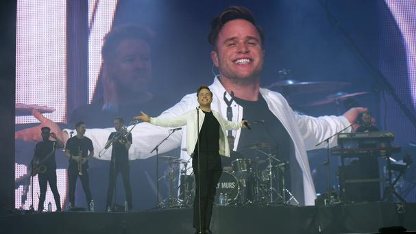 An Olly Murs concert will be among the events attended as part of the census