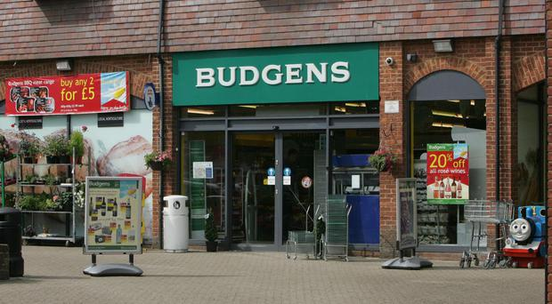 File photo of a Budgens supermarket