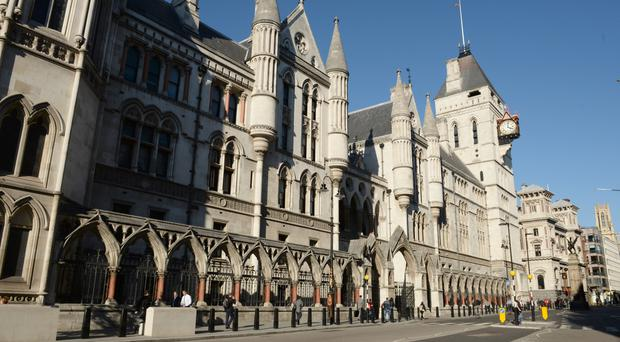 The case is being heard at the High Court