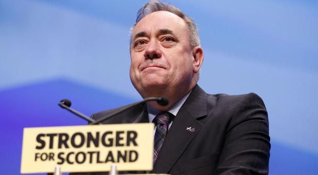 Alex Salmond said he 'learned a long time ago to never say never in politics'