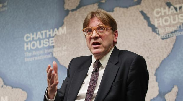 Guy Verhofstadt said Britons could keep certain EU rights if they apply for them on an individual basis