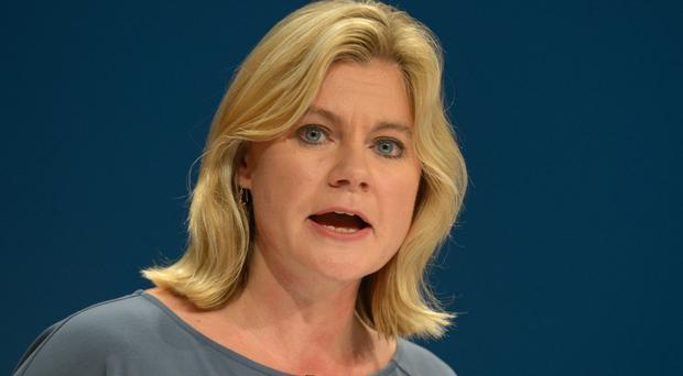 Headteachers heckled Education Secretary Justine Greening