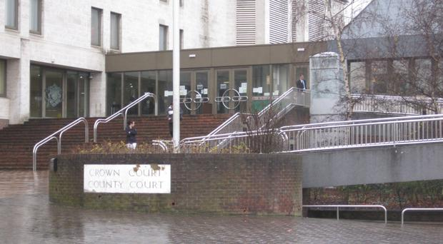 Fred Butcher entered his guilty plea at Maidstone Crown Court