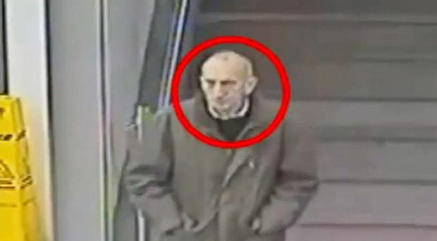 CCTV footage of David Lytton, who was identified more than a year after he was found dead