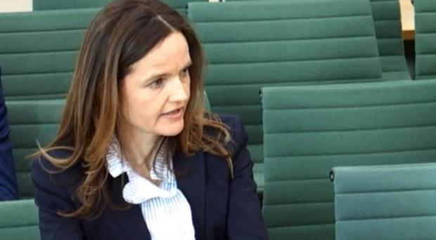 Bank of England deputy governor Charlotte Hogg admitted breaching guidelines