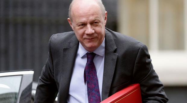 Work and Pensions Secretary Damian Green said a