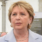 Former Irish president Mary McAleese