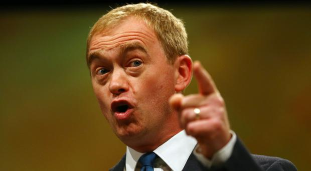 Tim Farron said pressure from business represents the best chance of softening Theresa May's approach to Brexit