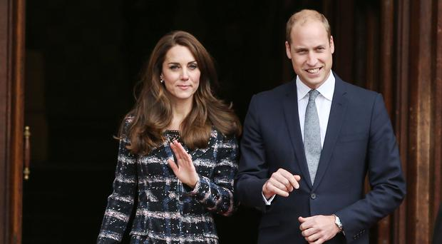 The Duke and Duchess of Cambridge are making an official two-day visit to Paris