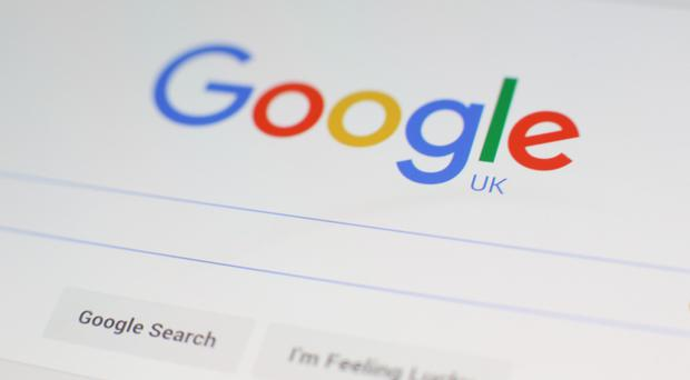 File photo dated 27/01/16 of a Google logo on the screen of a mobile phone, as he technology giant has been ordered by the Government to explain why taxpayer-funded adverts are appearing alongside extremist material.