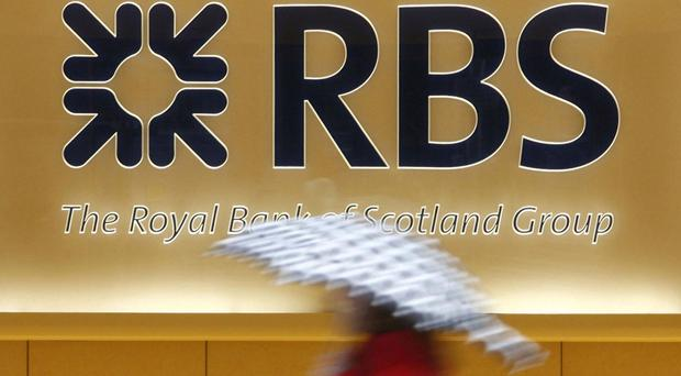 File photos of logos of HSBC, the Royal Bank of Scotland and Barclays, which are among some of the UK's top banks that allegedly processed around £600 million in a multibillion-pound Russian money-laundering scam, The Guardian reported.