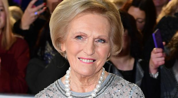 File photo dated 26/02/17 of TV chef Mary Berry who left viewers baffled over her recipes