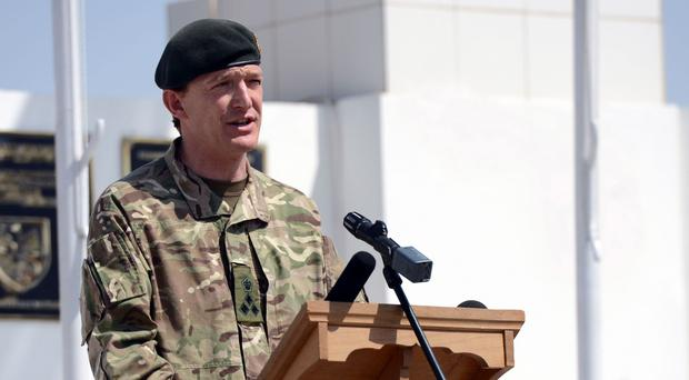 Major General Rupert Jones, Britain's top commander in Iraq and Syria, has warned foreign fighters travelling to join Islamic State in the region: