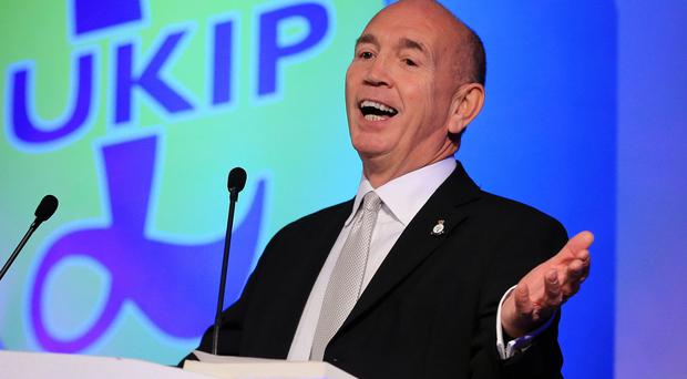 Robert Spink, pictured, and James Parkin allegedly submitted false signatures on Ukip nomination papers in an election in Essex