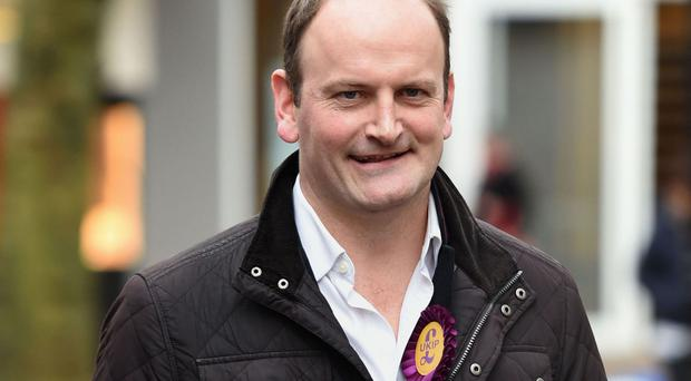 Douglas Carswell said he was leaving Ukip