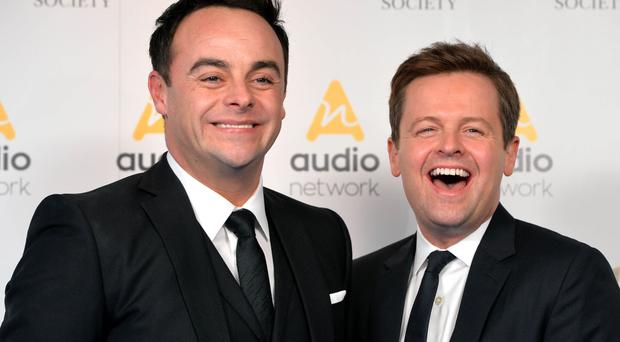 Ant and Dec scored the biggest audience of Saturday evening