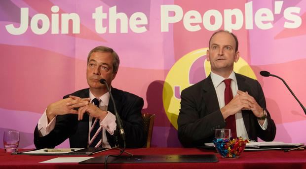 Nigel Farage (left) with Douglas Carswell