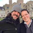 Kurt Cochran, who was killed in the Westminster terror attack, and his wife Melissa, who was injured (Family handout/PA)