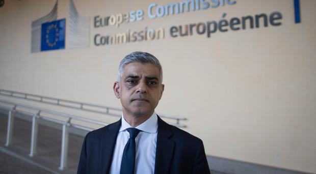 The London mayor is to emphasise the potential for the EU and the UK if the two take a mutually beneficial approach to Brexit